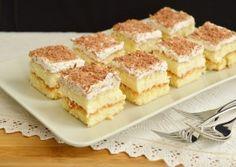 Prajitura cu crema de vanilie Food Cakes, Pavlova, Biscotti, Tiramisu, Cake Recipes, Recipies, Cheesecake, Sweets, Caramel