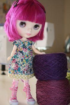 Look at that cute dress!