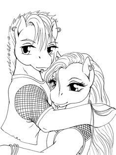Lilywhite's line art by Qwaychou on deviantART