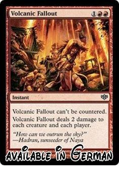 Magic: the Gathering - Volcanic Fallout - Conflux - Foil by Magic: the Gathering.  #Toy #TOYS_AND_GAMES