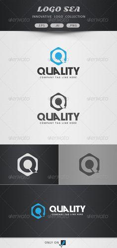 Letter Q Logo — Vector EPS #q letter #gear • Available here → https://graphicriver.net/item/letter-q-logo/8145383?ref=pxcr