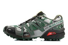 2016 New Speedcross 3 Trail Men's Cross GOOKG® Country Running Shoes Camouflage Casual Dancing Shoes Best Trail Running Shoes, Hiking Shoes, Running Shoes For Men, Gents Shoes, Salomon Shoes, Mens Crosses, Hype Shoes, Cycling Shoes, Leather Sandals