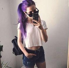 15 Hairstyles con cabello rosita, morado y púrpura que se te verían increíbles