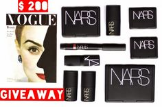 GIVEAWAY! $200 of NARS Cosmetics