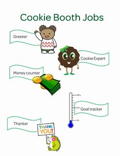 Girl Scout Cookie Booth Tally Sheet Fresh Cookie Booth Jobs Kaper Chart Use Clothes Pins to Mark who Has Scout Mom, Girl Scout Swap, Daisy Girl Scouts, Girl Scout Leader, Girl Scout Troop, Boy Scouts, Girl Scout Cookie Sales, Girl Scout Cookies, Cookies Et Biscuits