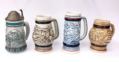 1980's Small Avon Steins Collection by ArtMaxAntiques on Etsy