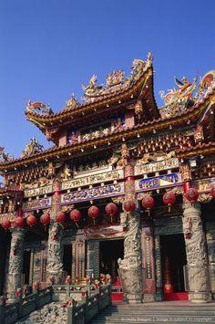 Taiwan,Kaohsiung,Shuen-sanzi-ten Temple