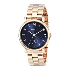 Marc Jacobs MBM3330 Baker /Rosetone Women's Watch