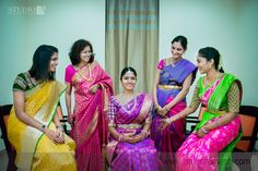 Studio A is a boutique of photographers and videographers that specializes in creative wedding photography and films. South Indian Weddings, South Indian Bride, Indian Wedding Album Design, Wedding Saree Collection, Wedding Saree Blouse, Indian Bridal Sarees, Indian Look, Elegant Saree, Beautiful Blouses