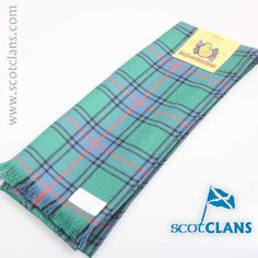 Shaw Ancient Tartan Scarf. Free worldwide shipping available