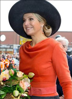 Queens & Princesses - King Willem Alexander and Queen Maxima visited the provinces of Groningen and Drenthe.