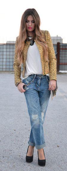 276ed5112c  streetstyle  style  streetfashion  fashion  boyfriendjeans  denim Jean  Outfits