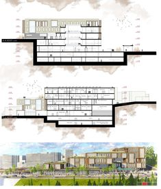 House drawing design layout 67 Ideas for 2019 Architecture Panel, Architecture Details, Gym Design, Layout Design, Elevation Drawing, Architecture Presentation Board, House Drawing, Logs, Landscape