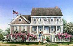 Love floor plan but need to change exterior Cape Cod   Traditional   House Plan 86138