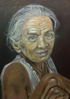 Anciana pastel