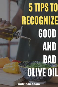 Do you know how to identify a real extra virgin olive oil? We have for you 5 simple tips that will guide you in choosing the best olive oil. #oliveoilbenefits #tipstochooseoiliveoil #bestoliveoil Complete Nutrition, Nutrition Plans, Healthy Diet Tips, Healthy Nutrition, Olive Oil Brands, Olive Oil Benefits, Clean Eating Grocery List, Fat Burning Drinks, Weight Loss Diet Plan