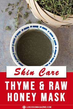 This mask is ideal for irritated or blemished skin. Thyme is a classic antibacterial and antiacne herb, and raw honey heals and soothes a variety of inflamed conditions.Tamanu is a well-researched and amazing oil that's been added to the recipe for its ability to repair damaged skin, scar tissue and a variety of other skin ailments. French green clay rounds out the mix and helps draw out impurities from within the skin...
