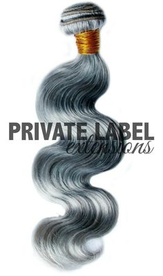 Brazilian Gray Body Wave Sew-In Extensions Wholesale