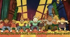 """It proved that going to the library is loads of fun for everyone! 