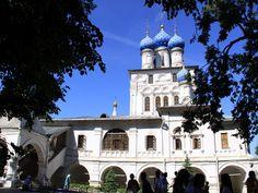 Фото храма Казанской иконы Божьей Матери в музее-усадьбе Коломенское