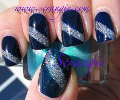 http://www.scrangie.com/search/label/silver?updated-max=2010-10-18T21:40:00-05:00=20=14=false=0 (nails,blue,silver,art,hologram,holo,fashion)