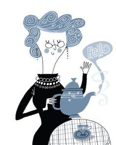 Vanessa Newton, Tea-time.