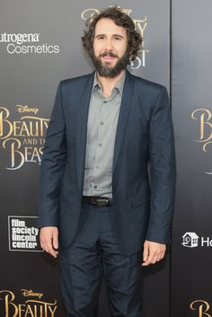 "Josh Groban Photos Photos - Josh Groban attends the ""Beauty And The Beast"" New York Screening at Alice Tully Hall at Lincoln Center on March 13, 2017 in New York City. - 'Beauty And The Beast' New York Screening"