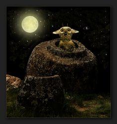 "neulich nachts in der ""Ebene der Tonkrüge"" Photo Manipulation, Surrealism, Photo Art, My Photos, Pets, Painting, Art Production, Cats, Painting Art"