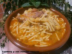 Luzmary y sus recetas caseras: RANCHO CANARIO EN OLLA ORBEGOZO GRAN GOURMET