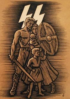 John Mitre Daily Stormer January 2015 Is Hitler a victim of post-war propaganda; Nazi Propaganda, Ww2 Posters, Political Posters, Military Art, Military History, World War Two, Vintage Posters, Wwii, Asatru