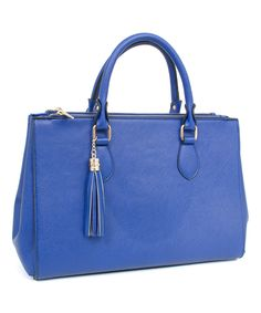 This Royal Tassel Tote By Rebecca Rifka Is Perfect Zulilyfinds