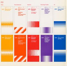 The EPA Graphic Standards Manual Is Getting Reissued - Design Milk Design Brochure, Design Logo, Identity Design, Typography Design, Layout Design, Graph Design, Signage Design, Design Agency, Banner Design