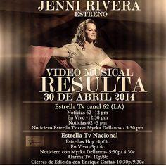 Jenni Rivera New Music Video Resulta