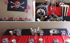 Pirate Party Box delivered direct to your door anywhere in New Zealand. Kids Birthday Themes, Kids Party Themes, First Birthday Parties, Pirate Party Games, Pirate Party Decorations, Hanging Decorations, Personalised Bunting, Personalized Gift Bags, Pirate Kids