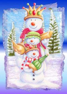 ‿✿⁀Snowmen‿✿⁀