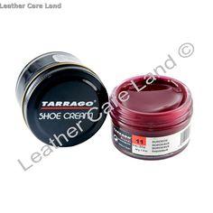 Shoe Cream Tarrago. Απαλή κρέμα βαφής για παπούτσια με διάφορα κεριά εκ των οποίων το 22% είναι κερί carnauba. Leather Dye, Smooth Leather, Cream Shoes, Soft Leather