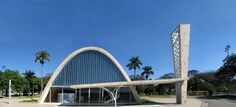 Pampulha Church by Oscar Niemeyer, Belo Horizonte, Brazil