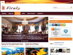 Firely is a smart, attractive and multi-purpose General/Blog free WordPress theme. Comes with 8+ custom widgets. Rich and easy to use administration panel, easily upload your logo or favicon.
