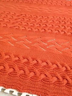 Fire on the waves afghan  free on Ravelry