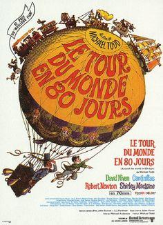Le Tour Du Monde En 80 Jour : monde, Monde, Jours, Jules, Verne,, Around, World, Days,, Quebec, Canada