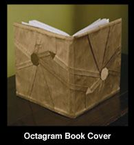 Shadowfolds cloth book cover. Might make an interesting art binding.