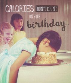 Calories Don't Count - Humorous Greeting Card - Hanson White - CardSpark