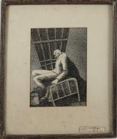 "John Resko, ""Distorted World"" : Lot 103"