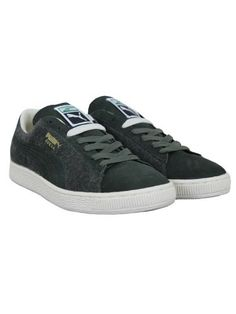 5457c5c74d6f4 Puma Suede City Trainers - Forest White FORREST WHT 12 Puma Suede