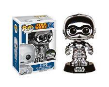 Star Wars POP! Vinyl Wackelkopf-Figur E-3PO Chrome Convention Special 10 cm