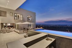 Luxury properties Prestigious Contemporary South African Penthouse