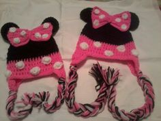 My Minnie Mouse inspired hats