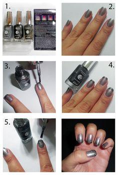 Tutorial Ombrè Nails by Bru Pio.
