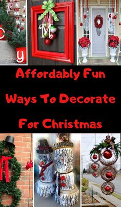 60 DIY Christmas decorations sure to impress your guests Modern Christmas, Christmas Diy, Christmas Decorations, Holiday Decor, Dress Suits For Men, Personalized Makeup Bags, Intresting Facts, April 4th, Gift Bows
