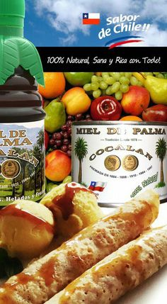 Miel de palma Chilean Food, Chilean Recipes, Ideas, Gastronomia, Chili Recipes, Plate, Meals, Things To Do, Fathers